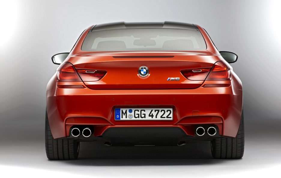 BMW M6 - Posteriore