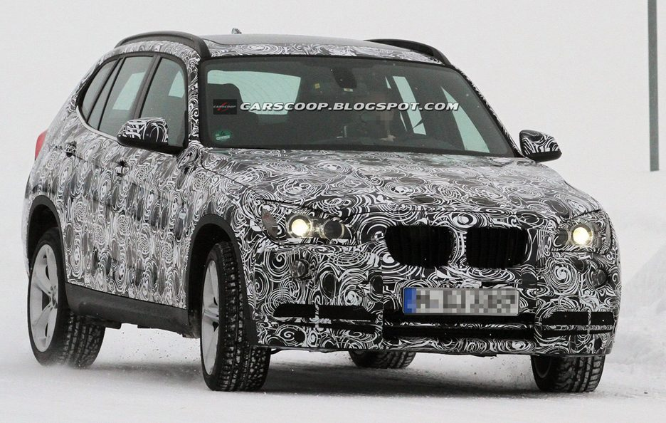 BMW X1 Restyling 2013 - Frontale