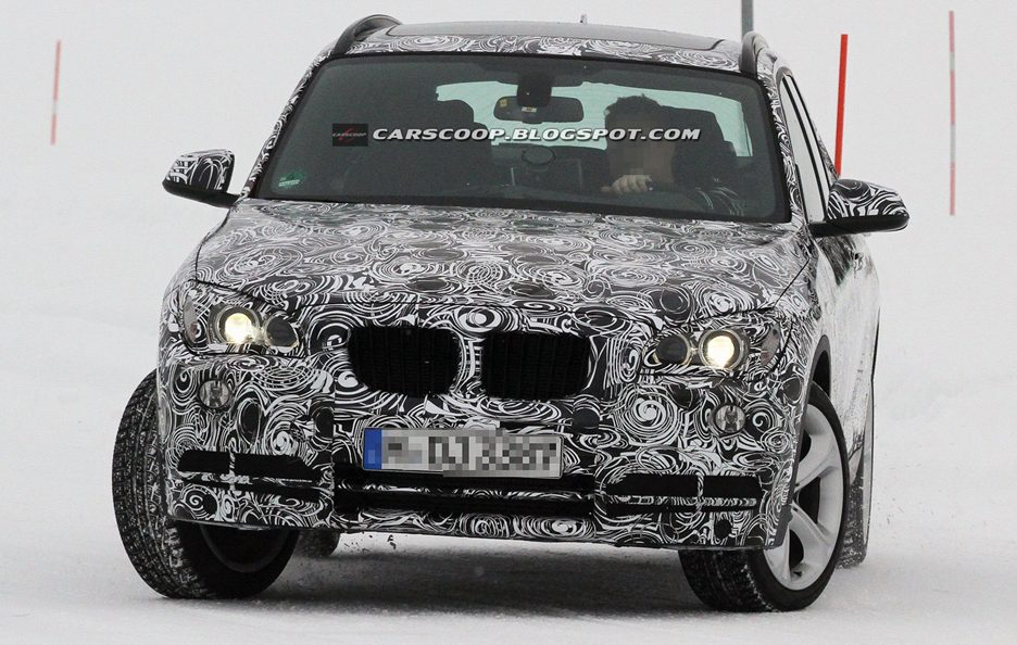 BMW X1 Restyling 2013 - Il frontale