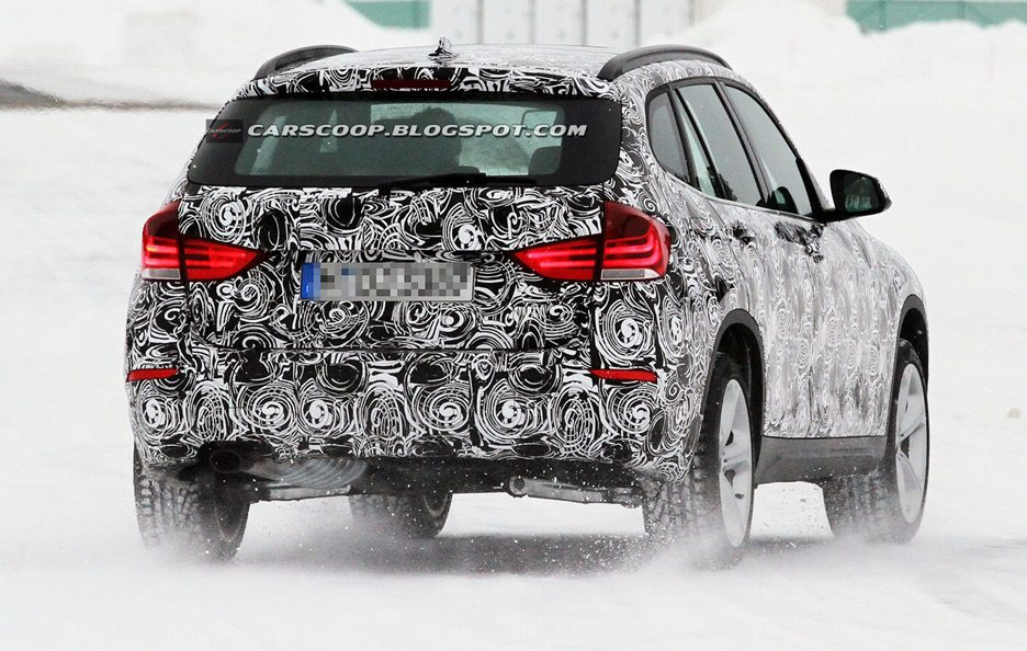 BMW X1 Restyling 2013 - Il retrotreno