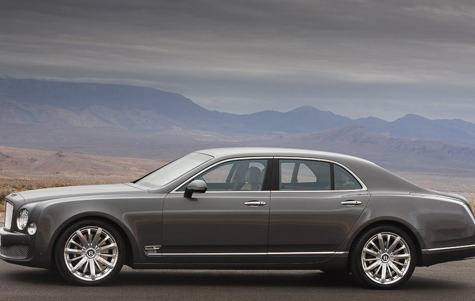 Bentley Mulsanne Mulliner Driving Specification - La fiancata