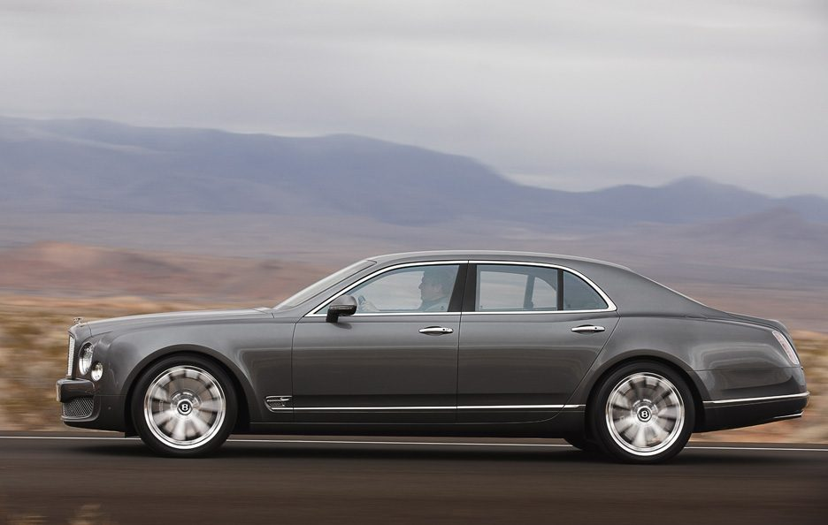 Bentley Mulsanne Mulliner Driving Specification - Laterale
