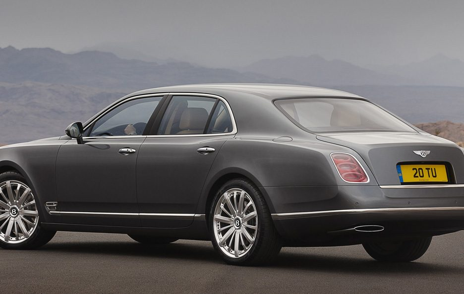 Bentley Mulsanne Mulliner Driving Specification - Linee