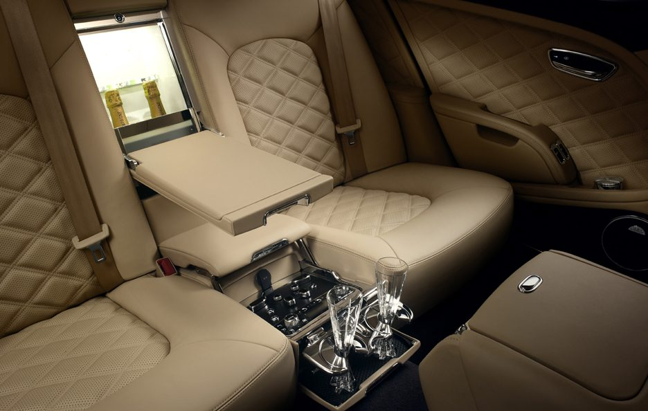 Bentley Mulsanne Mulliner Driving Specification - Mini frigo