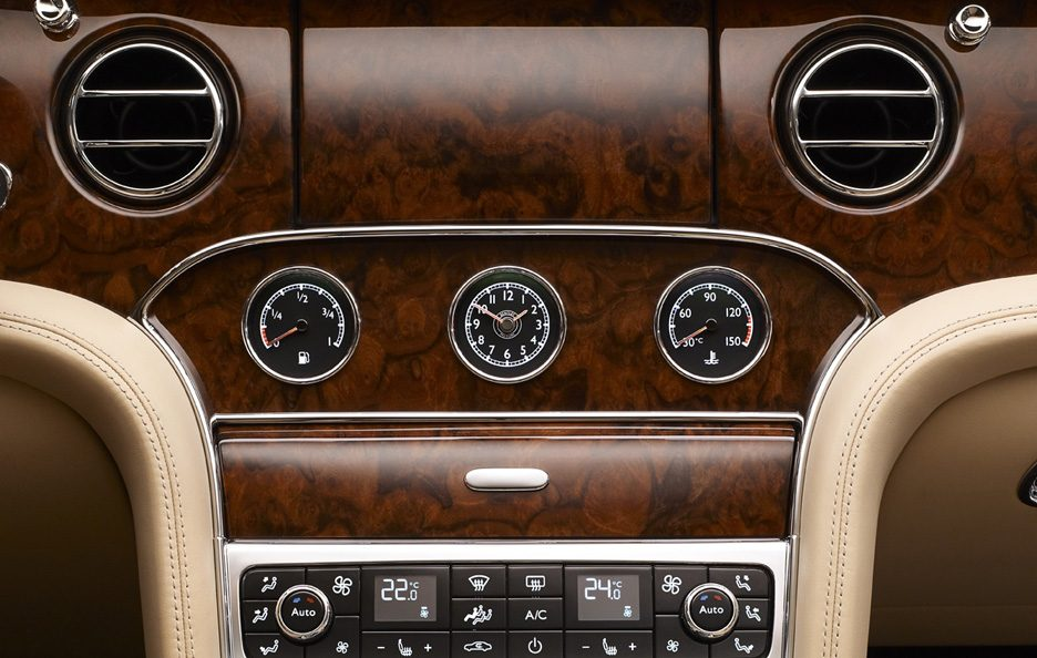 Bentley Mulsanne Mulliner Driving Specification - Plancia centrale