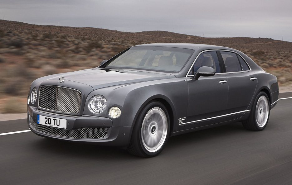 Bentley Mulsanne Mulliner Driving Specification - Profilo laterale in motion
