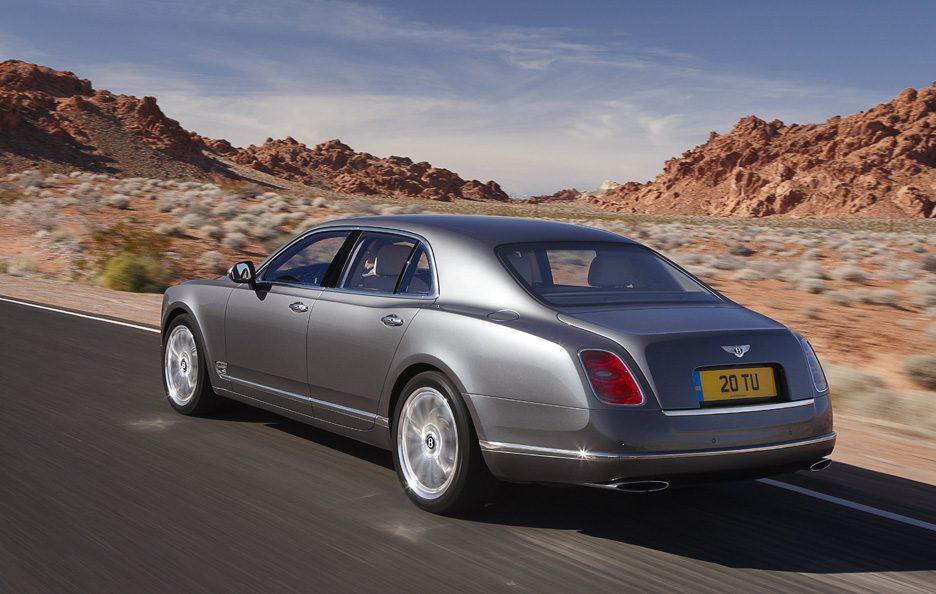 Bentley Mulsanne Mulliner Driving Specification - Profilo posteriore