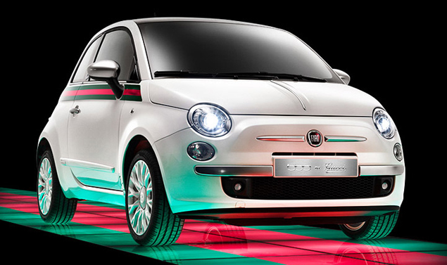 Fiat 500 by Gucci - Bianca