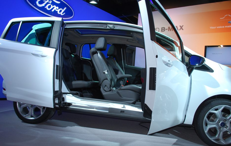 Ford B-Max - Easy Access Door