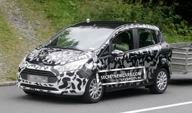 Ford B-Max - Il frontale