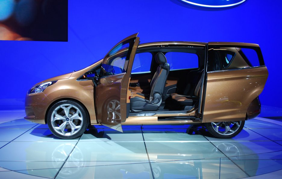 Ford B-Max - Laterale aperto