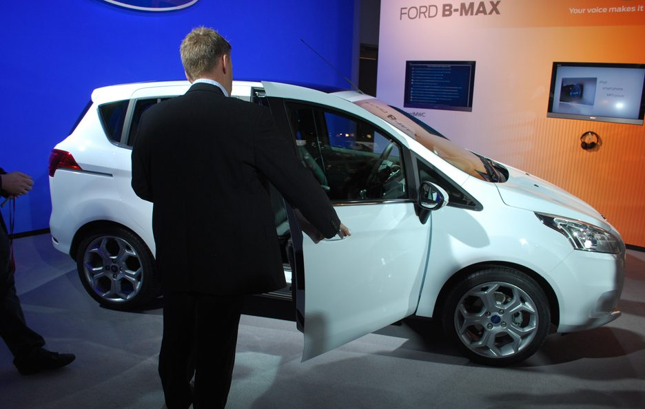 Ford B-Max - Le linee