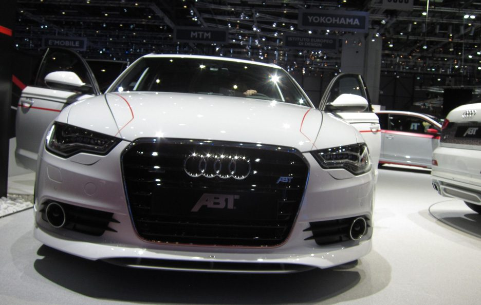 Ginevra 2012 - Abt AS6 Avant frontale