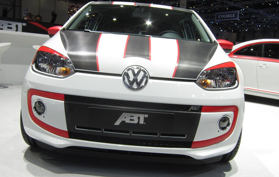 Ginevra 2012 - Abt Volkswagen up! frontale