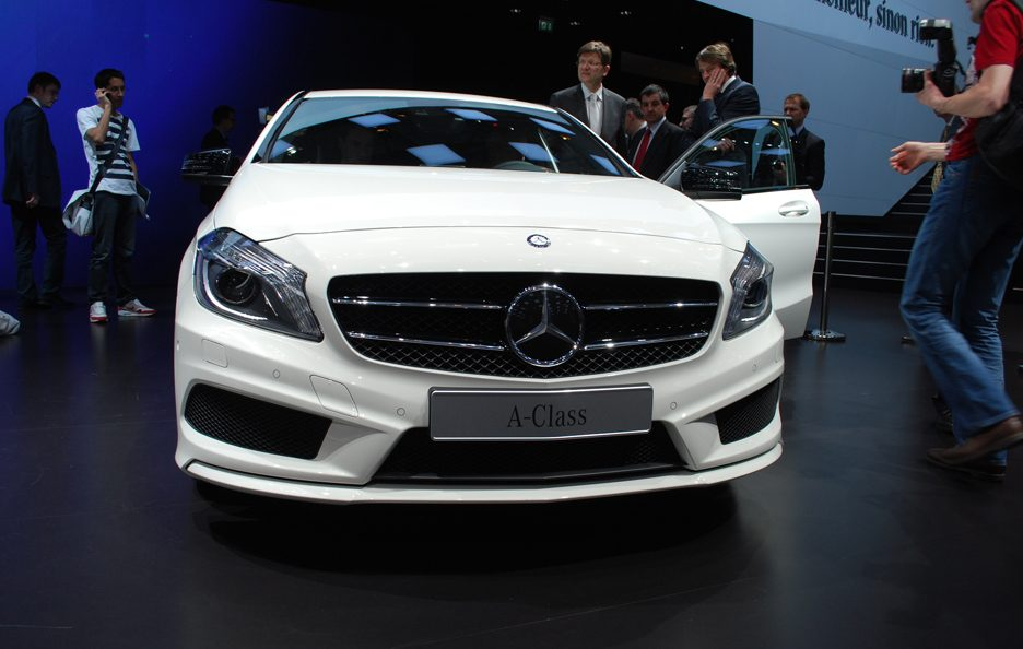Ginevra 2012 - Mercedes Classe A - Frontale basso