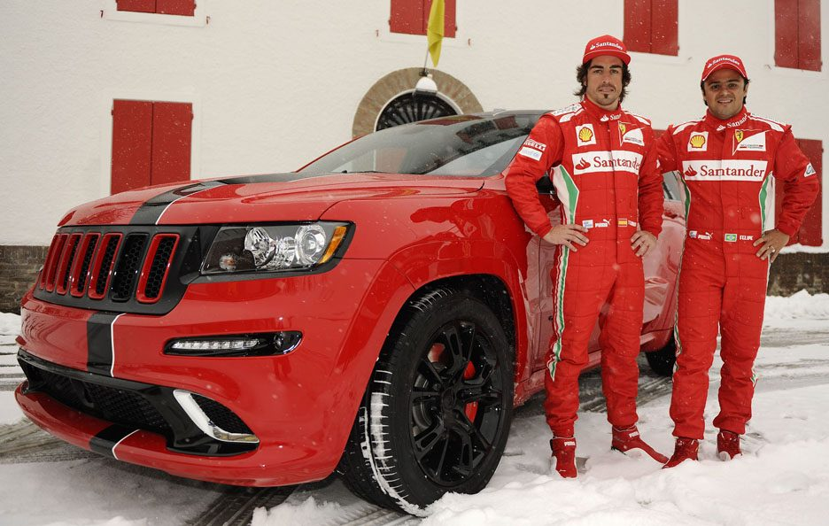Jeep Grand Cherokee SRT8 - Massa-Alonso