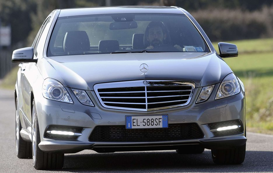 Mercedes Benz Classe E MY 2012 - Berlina - Anteriore