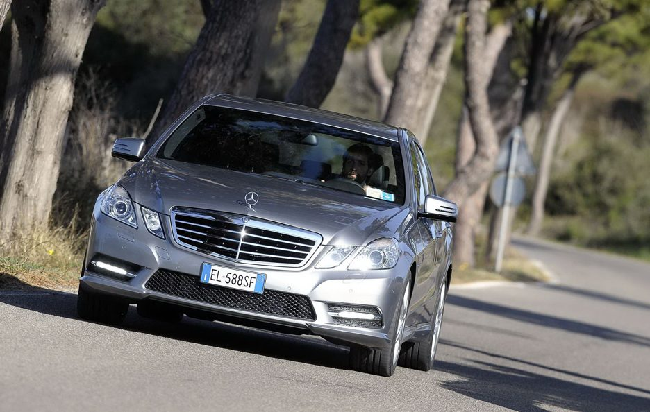 Mercedes Benz Classe E MY 2012 - Berlina - Frontale