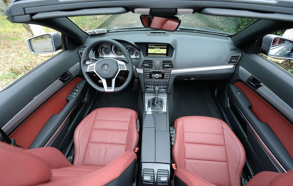 Mercedes Benz Classe E MY 2012 - Cabrio - Interni