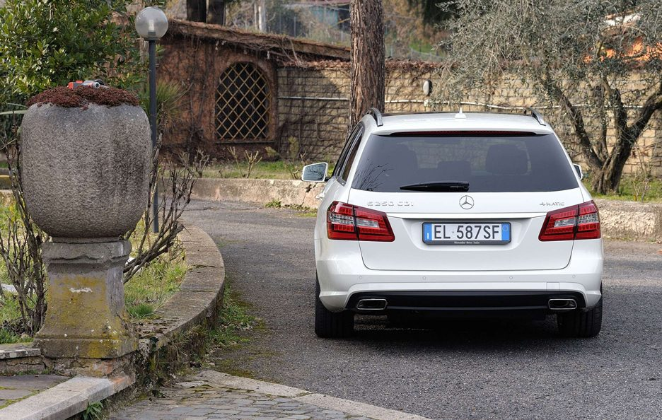 Mercedes Benz Classe E MY 2012 - Station Wagon - Coda