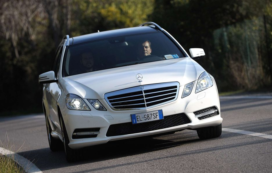 Mercedes Benz Classe E MY 2012 - Station Wagon - Frontale