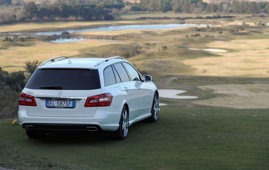 Mercedes Benz Classe E MY 2012 - Station Wagon - Posteriore