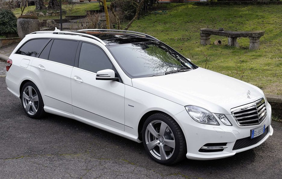 Mercedes Benz Classe E MY 2012 - Station Wagon - Su strada