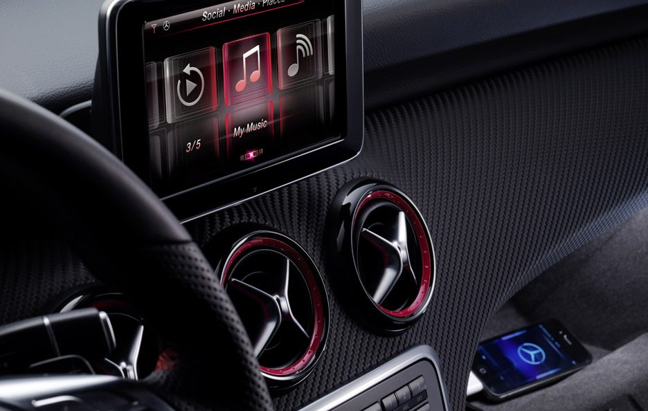 Mercedes Classe A - Digital DriveStyle App