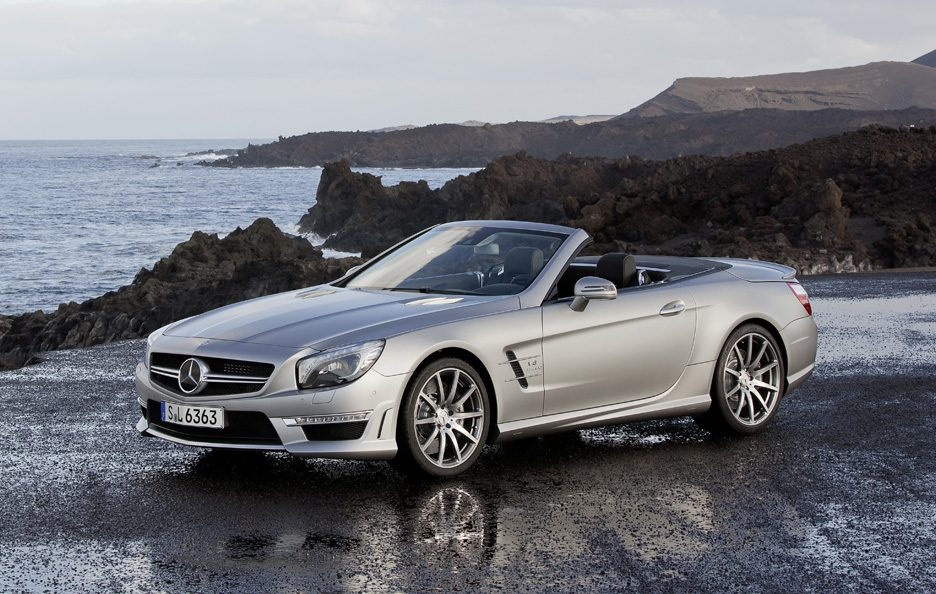 Mercedes SL 63 AMG - Design