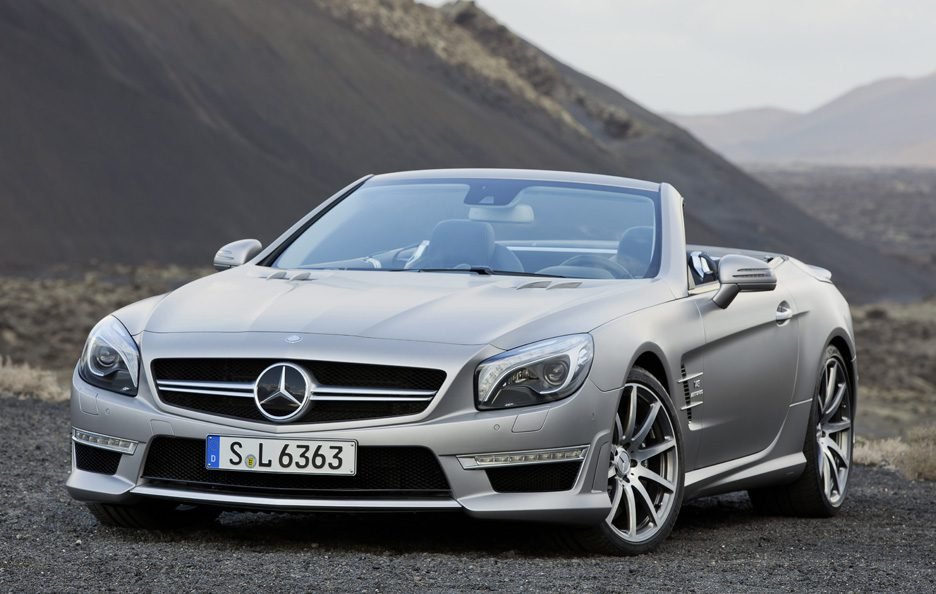 Mercedes SL 63 AMG - Il frontale