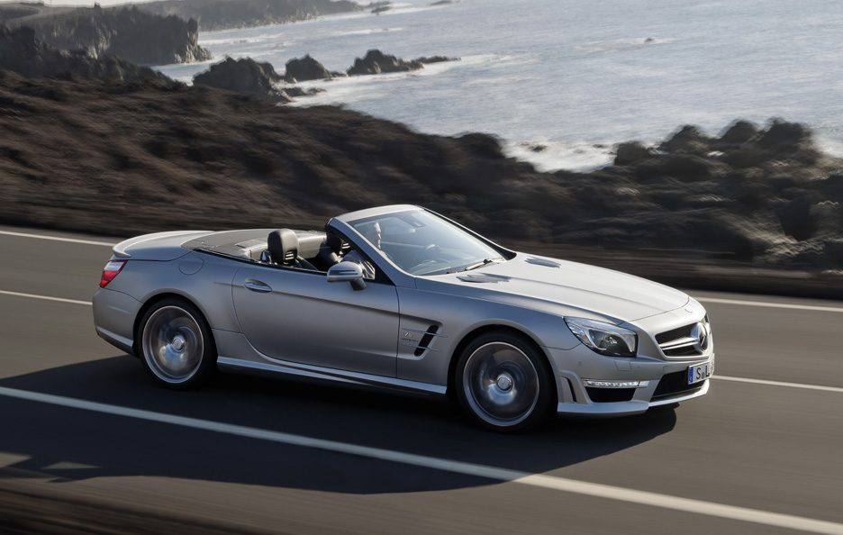 Mercedes SL 63 AMG - In motion