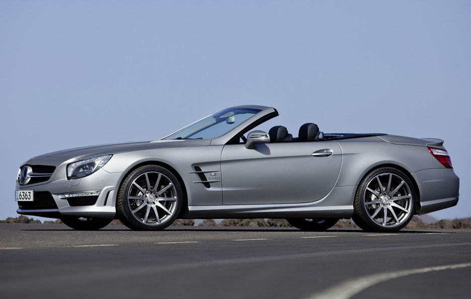Mercedes SL 63 AMG - Laterale basso