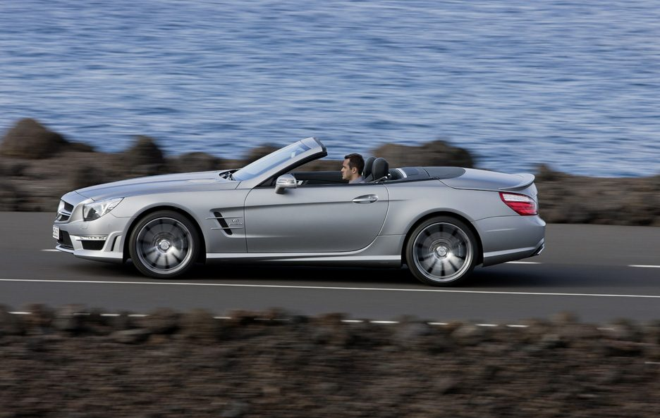 Mercedes SL 63 AMG - Laterale in motion