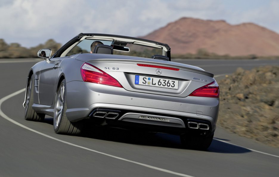 Mercedes SL 63 AMG - Posteriore in motion