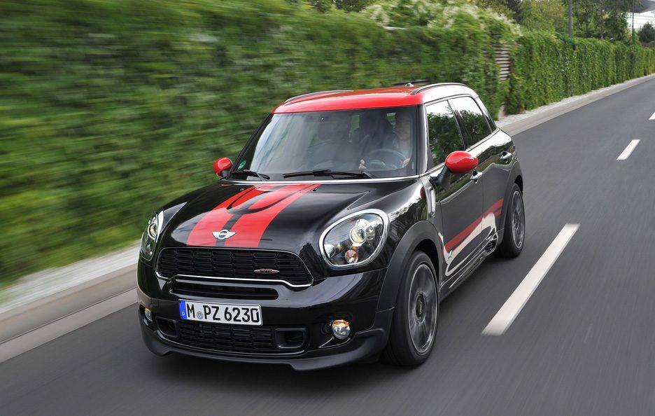 Mini Countryman John Cooper Works - Avantreno in motion