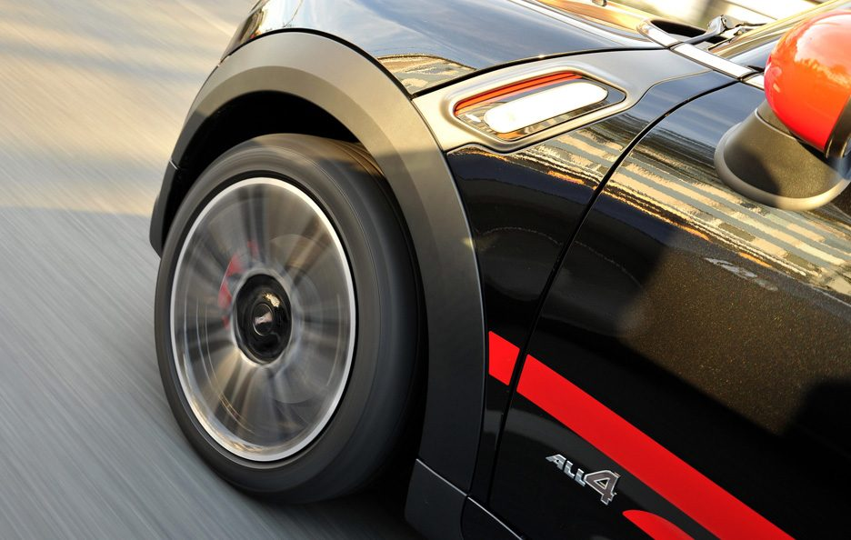 Mini Countryman John Cooper Works - Cerchi in motion