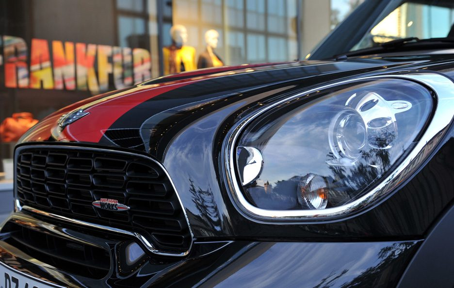 Mini Countryman John Cooper Works - Dettagli muso