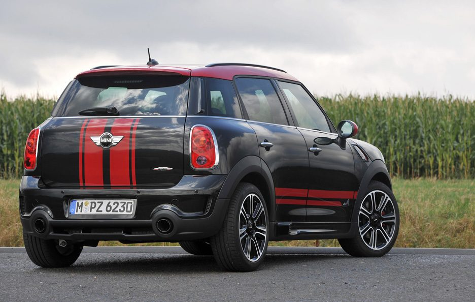 Mini Countryman John Cooper Works - Il retrotreno
