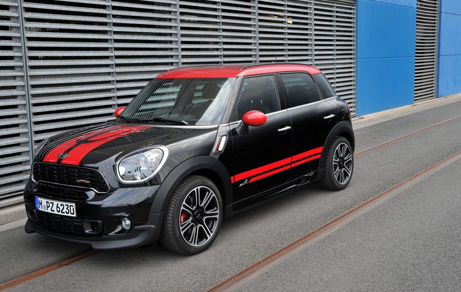 Mini Countryman John Cooper Works - Le linee