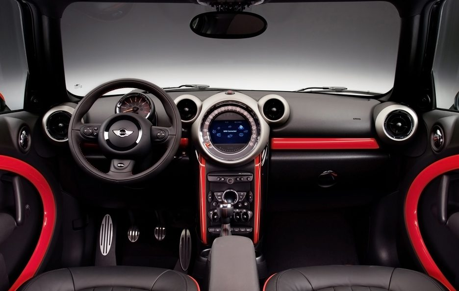 Mini Countryman John Cooper Works - Plancia