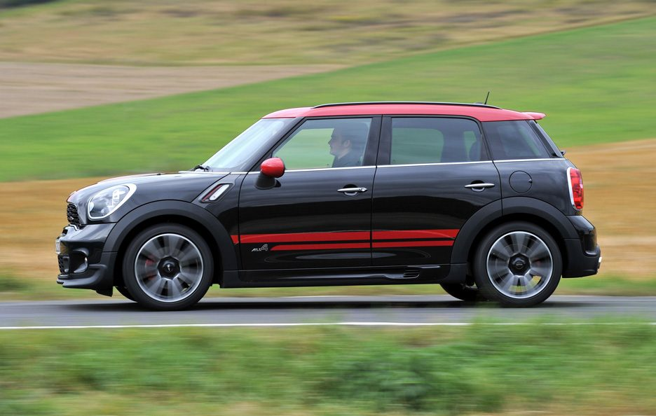 Mini Countryman John Cooper Works - Profilo in motion