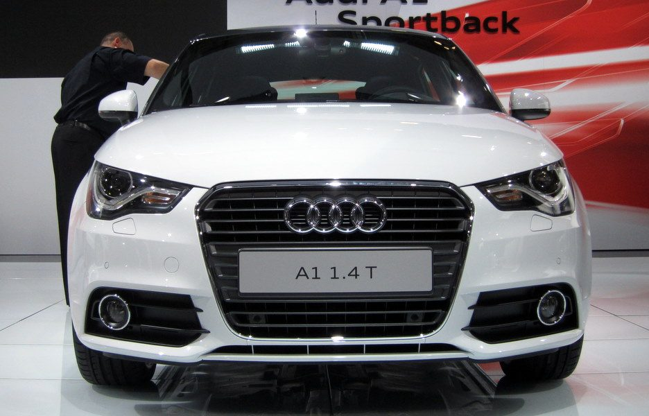 Motor Show 2011 - Audi A1 Sportback - Il frontale