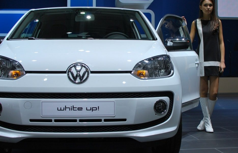 Motor Show 2011 - Volkswagen white up!  - Il frontale