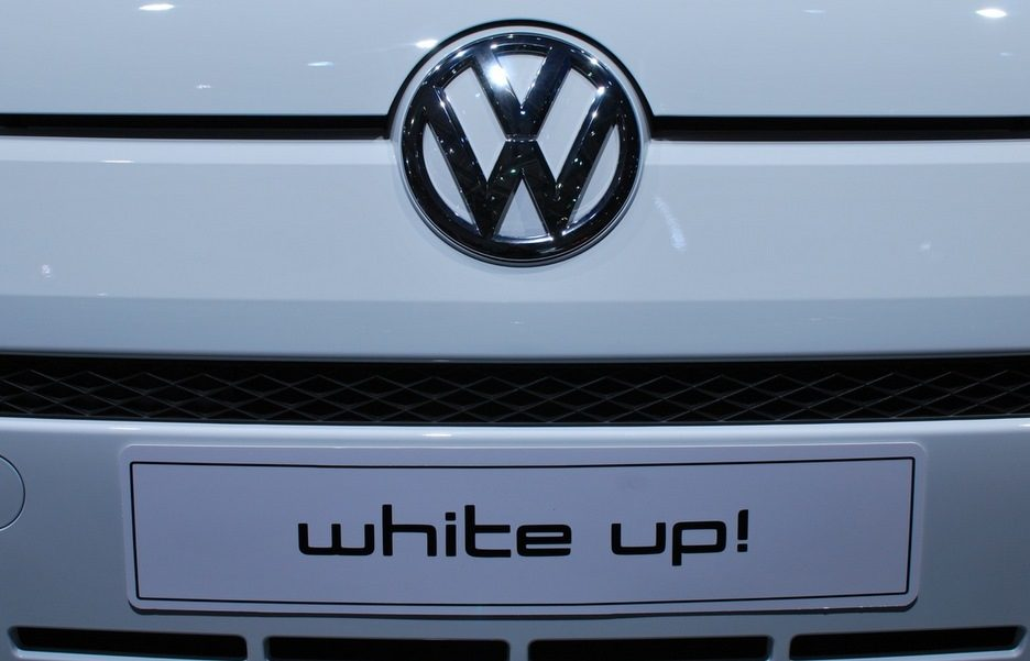 Motor Show 2011 - Volkswagen white up!  - Il frontale - Particolare