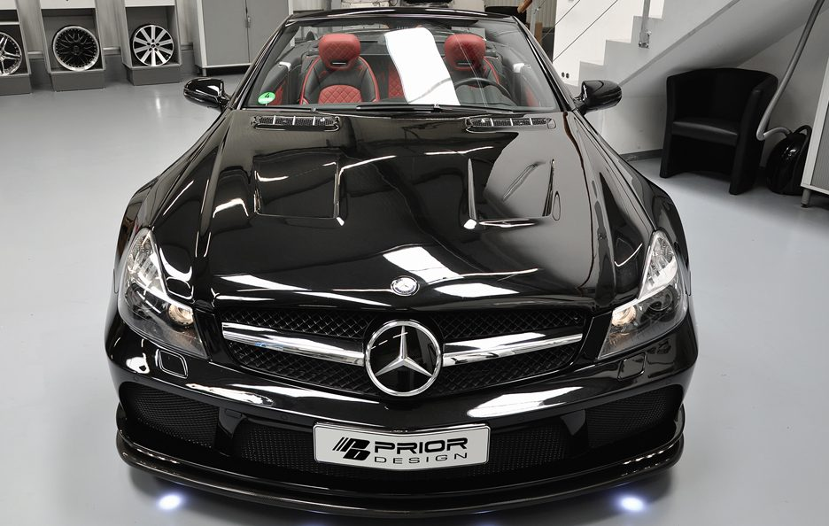 PD - Mercedes SL R230 blackedition - Frontale alto