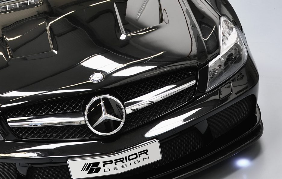 PD - Mercedes SL R230 blackedition - Griglia frontale