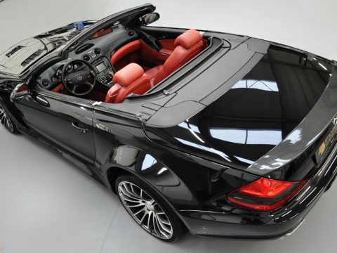 PD - Mercedes SL blackedition widebody TOMASON - Posteriore alto