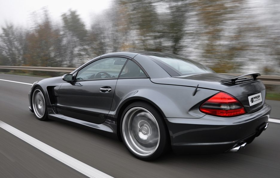 PD - Mercedes Sl blackedition widebody GREY - In motion