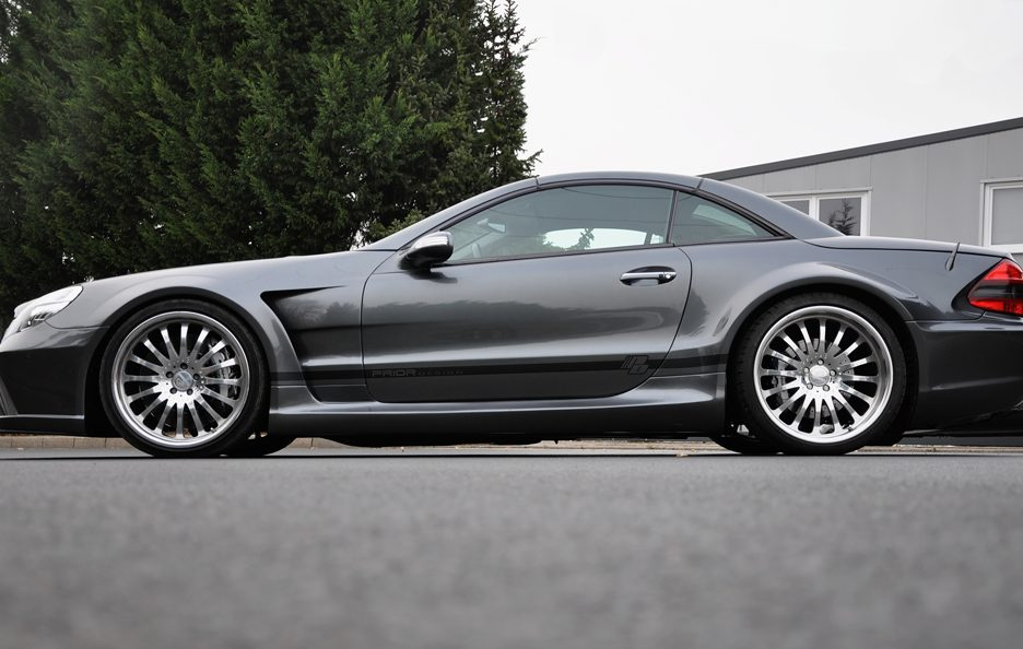 PD - Mercedes Sl blackedition widebody GREY - Laterale