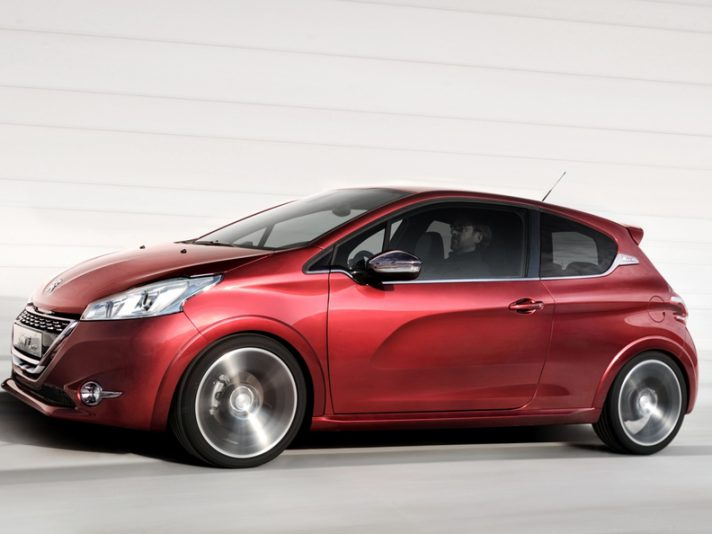 Peugeot 208 GTi - Laterale